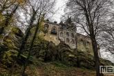 Het Kasteel Bentheim in Bad Bentheim in Duitsland