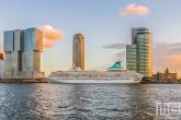 Te Koop | Het cruiseschip MS Artania aan de Cruise Port in Rotterdam