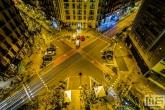 Het uitzicht vanaf Hotel America in Barcelona by Night