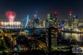 Te Koop | Het Nationale Vuurwerk bij de Erasmusbrug in Rotterdam