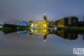 Het museum Boijmans van Beuningen in Rotterdam in reflectie