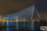 Te Koop | De Erasmusbrug en de Spido in Rotterdam by Night