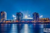 Te Koop | Het Feyenoord Stadion De Kuip in Rotterdam tijdens een speelavond in kleur