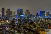 Te Koop | De binnenstad van Rotterdam met alle hotspots (Markthal, Potlood, WTC Rotterdam, Bibliotheek Rotterdam) in de nacht