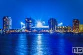 Het Feyenoord Stadion De Kuip in Rotterdam Feijenoord tijdens een speelavond