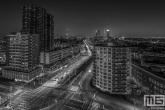 Het Vasteland in Rotterdam by Night