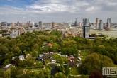 Het Euromastpark tijdens bevrijdingsdag in Rotterdam