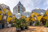 De Kubuswoningen met het Potlood in Rotterdam by Day