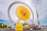 Het reuzenrad van Shell Energy Day in Rotterdam Ahoy