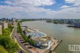Het oude Tropicana in Rotterdam, want nu opgebouwd wordt naar Blue City