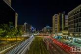 Het Hofplein in Rotterdam by Night