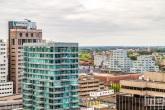 Het ABN Amro en Urban Residences gebouw in Rotterdam Centrum