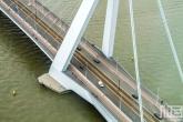Het uitzicht op de Erasmusbrug in Rotterdam