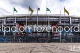 Het Feyenoord Stadion De Kuip in Rotterdam-Zuid