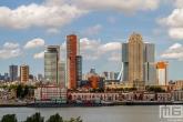Te Koop | De skyline van Rotterdam gezien vanuit Rotterdam-Zuid