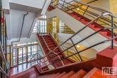 De trappen van de Van Nelle Fabriek in Rotterdam Delfshaven