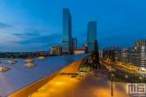 Te Koop | Het Centraal Station en het stationsplein in Rotterdam by Night