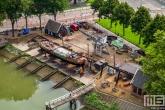 De scheepshelling Koningspoort in de Oude Haven in Rotterdam