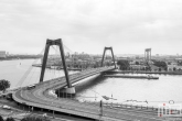 De Willemsbrug tussen Rotterdam Centrum en het Noordereiland