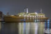 Te Koop | Het ss Rotterdam in Rotterdam by Night