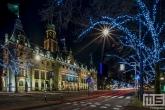 Te Koop | Het stadhuis op de Coolsingel in Rotterdam by Night