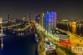 Te Koop | De Scheepmakershaven in Rotterdam by Night