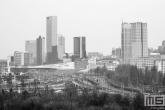 Het uitzicht op Centraal Station in Rotterdam Centrum