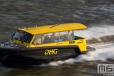 De Watertaxi over De Maas in Rotterdam
