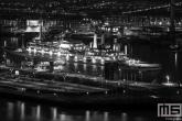 Het cruiseschip ss Rotterdam Katendrecht