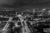 Te Koop | Het Droogleever Fortuynplein in Rotterdam in zwart/wit