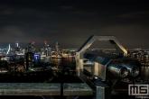 Het uitzicht vanaf de Euromast in Rotterdam