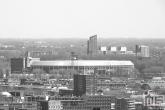 Te Koop | Het Feyenoord Stadion De Kuip in Rotterdam-Zuid in zwart/wit