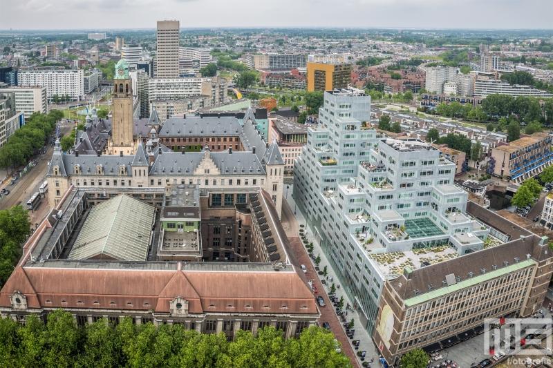 Het Postkantoor en Timmerhuis in Rotterdam Centrum