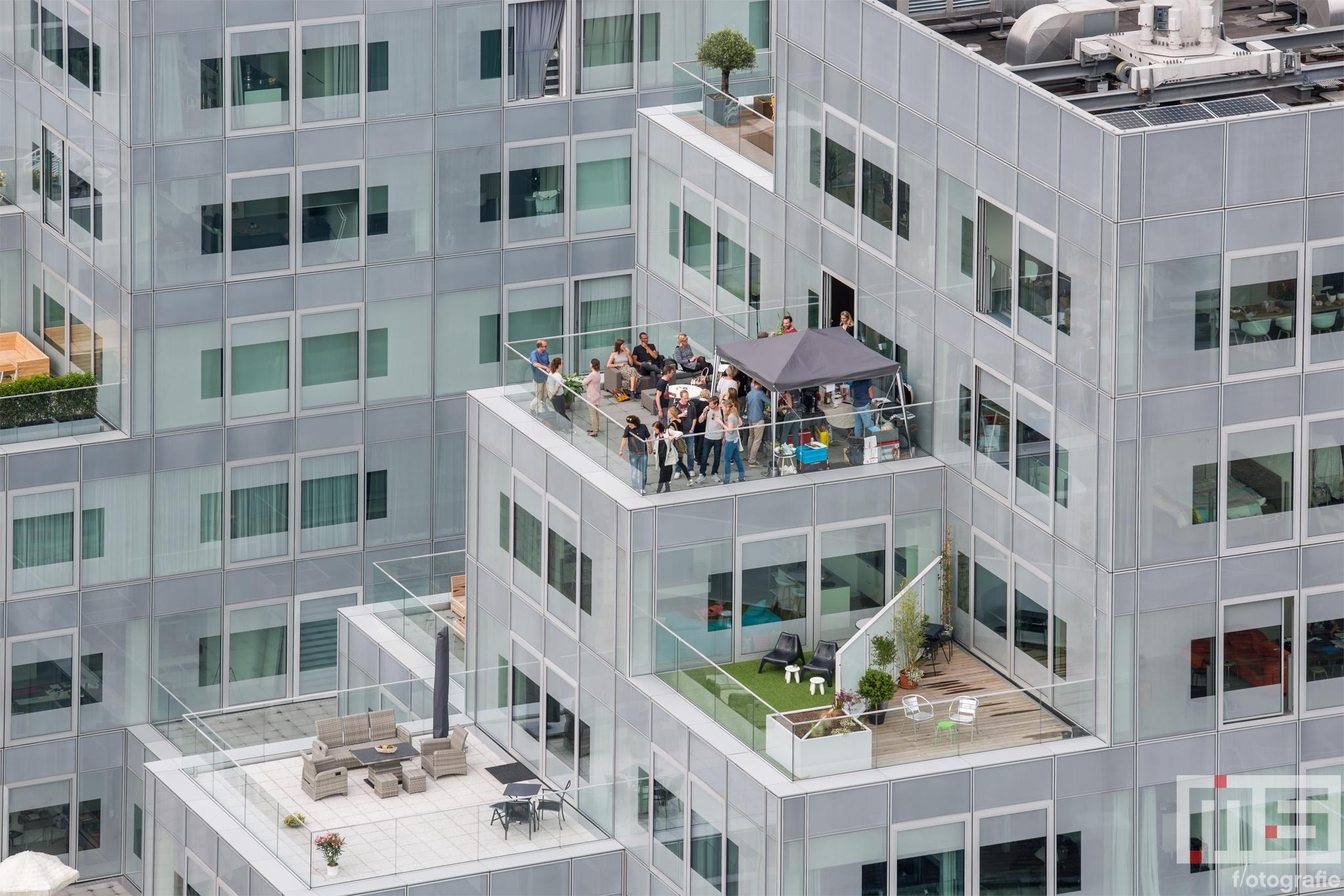 Het Timmerhuis van Rem Koolhaas in Rotterdam Centrum