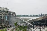 Het Groothandelsgebouw en de Trap voor Rotterdam Viert de Stad