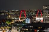 Te Koop | Het Witte Huis en Willemsbrug in Rotterdam by Night