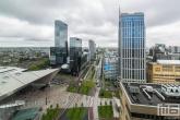 Het stationsplein in Rotterdam Centrum