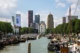 Te Koop | Het Haringvliet met het Witte Huis in Rotterdam