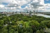 Te Koop | Het Park in Rotterdam met Rotterdamse wolken