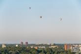 De luchtballonnen van Luchtreiziger boven Rotterdam