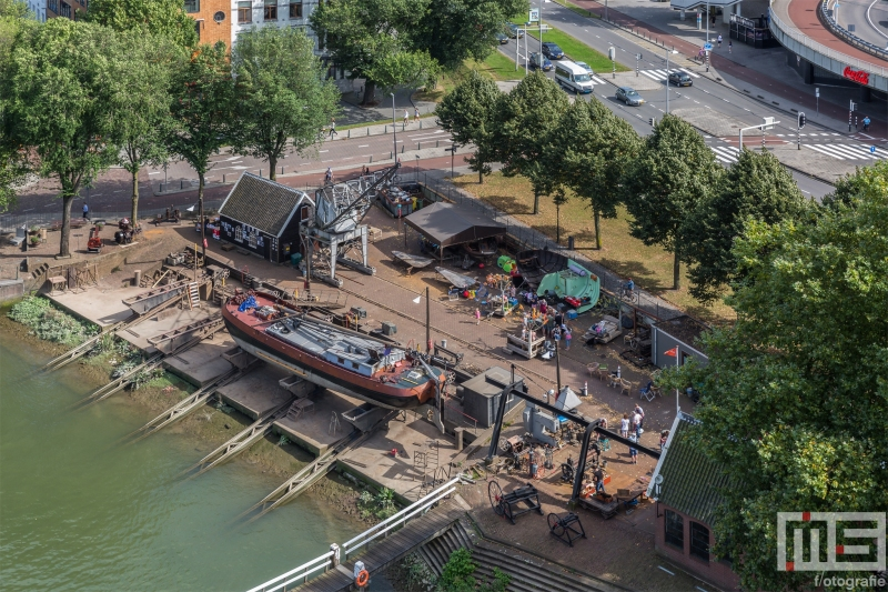 Te Koop | De Scheepswerf Koningspoort in de Oudehaven in Rotterdam