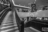 De lobby van het Hilton Hotel in Rotterdam Centrum