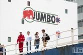 De openstelling van het Jumbo schip Javelin tijdens de Wereldhavendagen in Rotterdam