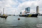 Het schip Polaris van Loodswezen tijdens de Wereldhavendagen in Rotterdam