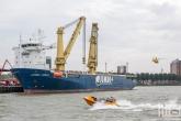 De reddingsboten van Loodswezen tijdens de Wereldhavendagen in Rotterdam