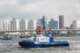 De sleepboot Fairplay 1 van Fairplay tijdens de Wereldhavendagen in Rotterdam