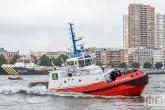 De sleepboot SD Jacoba van Kotug tijdens de Wereldhavendagen in Rotterdam