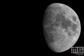 Een bijna Volle Maan gemaakt in Strijen in de Hoeksche Waard
