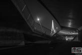 Te Koop | De Erasmusbrug vanuit een bijzonder standpunt in Rotterdam by Night
