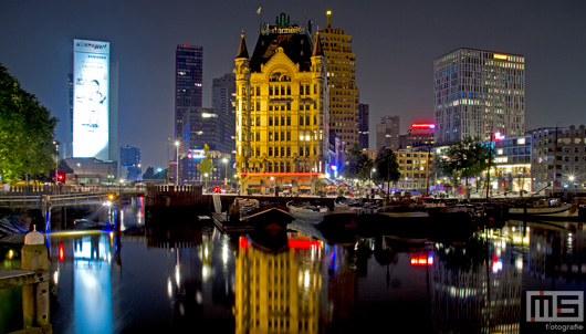De Oudehaven in Rotterdam met het Witte Huis | Cover Small